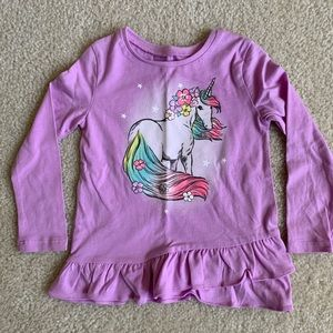 Carter's Unicorn Shirt Size 2T NWOT